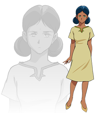 "Say hello to the new voice of Lalah Sune in ""Mobile Suit Gundam: The Origin"" Episode 4! I exercised my high-pitched, airy voice with her!"